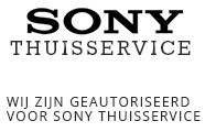Sony-Thuisservice
